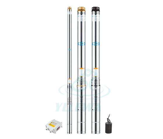2/3SD  Deep-well submersible water pumps