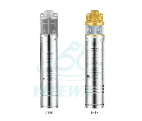 ¾NK ¾SK  Submersible pump series